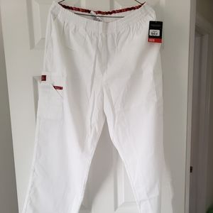 Dickie White Pant with Pocket Scrub